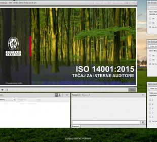 Održan webinar za ISO 14001:2015 interne auditore